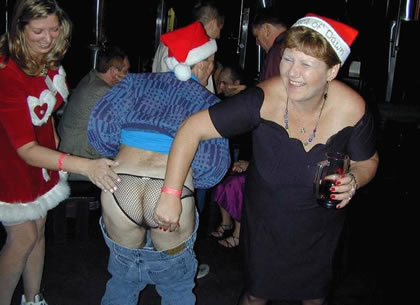 Hot adult christmas party!